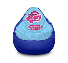 """Кресло мешок """"My Little Pony. Logo"""" Оксфорд XXXL (100х135 см)"""
