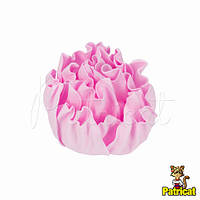 Цветы Пионы Розовые из фоамирана (латекса) 9 см 1 шт