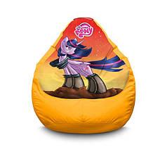 "Крісло мішок ""My Little Pony. Twilight Sparkle orange"" Оксфорд"