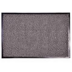 Брудозахисний килимок волого і грязе вловлюють розрізний ворс Premium з підвищеною влаговпітиваемостью сірий