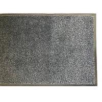 Грязезащитный коврик влаго и грязе улавливающие разрезной ворс Premium с повышеной влаговпитываемостью графит, фото 1