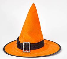 Шляпа колпак волшебника, ведьмы с пряжкой