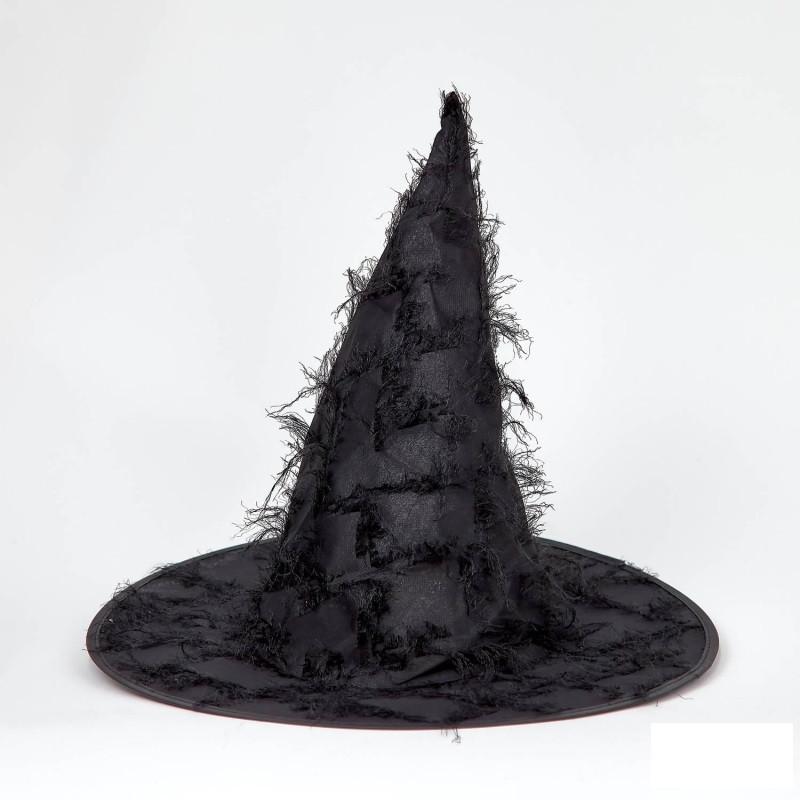 Шляпа карнавальная Ведьмочки с бахромой