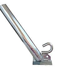 Кронштейн д50 мм 350 мм 30гр  с Крюком  для светильников уличного освещения