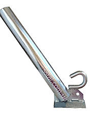 Кронштейн для світильників д50 мм 350 мм з Гаком 30гр