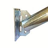 Кронштейн УНИВЕРСАЛЬНЫЙ Ф40 угол 45 градусов для светильника уличного освещения, фото 2