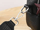 Міні сумочка рюкзак жіночий 2 в 1 в стилі Prada. Жіноча маленька сумка рюкзак Прада., фото 2