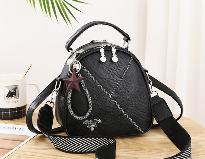 Міні сумочка рюкзак жіночий 2 в 1 в стилі Prada. Жіноча маленька сумка рюкзак Прада.