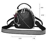 Міні сумочка рюкзак жіночий 2 в 1 в стилі Prada. Жіноча маленька сумка рюкзак Прада., фото 7