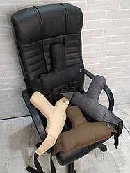 Упор поясничный  EKKOSEAT, секторальный под спину на кресло