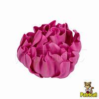 Цветы Пионы Пурпурный из фоамирана (латекса) 9 см 1 шт