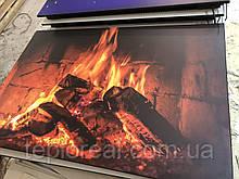Керамический обогреватель с конвекцией терморегулятором и рисунком 525 Вт