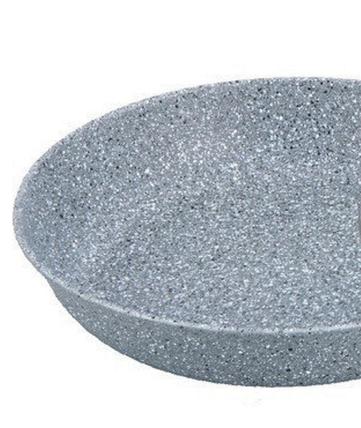 Сковородка Benson глубокая c гранитным покрытием 28*6 см, фото 2
