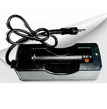 Сетевые зарядные устройства для одного Аккумуляторов 18650 с шнуром ART-3281 (200 шт/ящ)