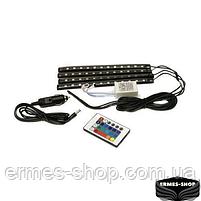Универсальная автомобильная RGB LED подсветка, фото 3