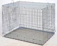 Клетка ВОЛК-2 для  собак и кошек  №2. ВОВК-2. 107-72-81,5 см