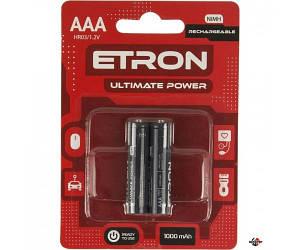 ETRON AAA1000 Аккумулятор AAA1000mAh