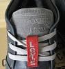 Зима! Супер качество в стиле  Levis! синие теплые мужские ботинки кожа Левис, фото 3