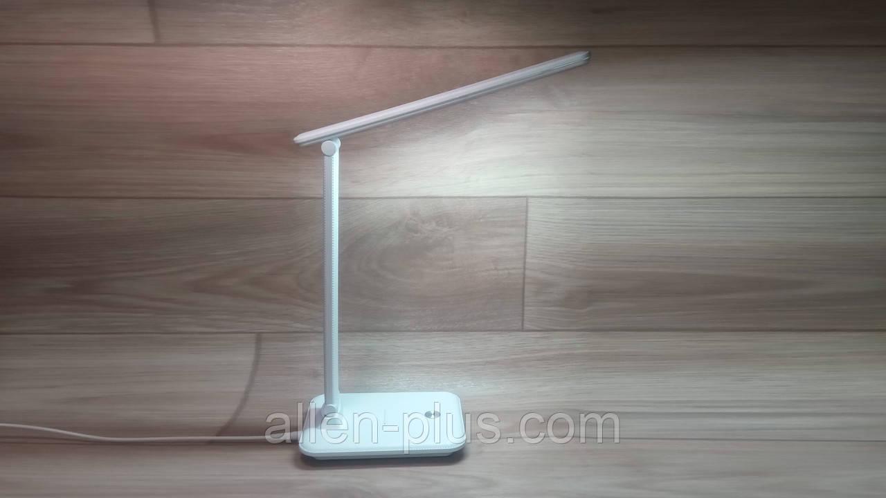 Настольная лампа светодиодная TITANUM TLTF-009W, 185-265V, 10W, белая