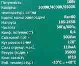 Настольная лампа светодиодная TITANUM TLTF-009W, 185-265V, 10W, белая, фото 9