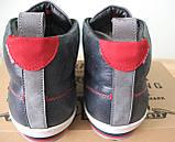 Зима! Супер качество в стиле  Levis! синие теплые мужские ботинки кожа Левис, фото 5