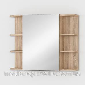 Тумба навесная с зеркалом
