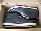 Зима! Супер качество в стиле  Levis! синие теплые мужские ботинки кожа Левис, фото 10