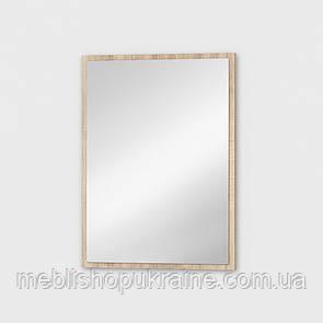 Щит с зеркалом Дуб Сонома