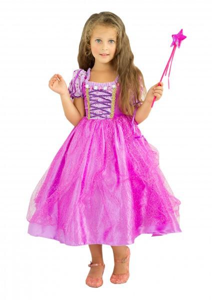 Праздничное платье Рапунцель для девочки
