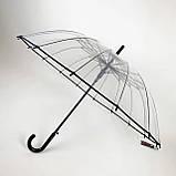 Зонт трость прозрачный  ., фото 2