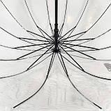 Зонт трость прозрачный  ., фото 4