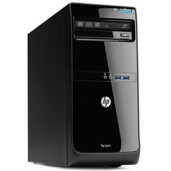 Системный блок HP Pro3500 mini tower Intel Core-i3-3220-3,3GHz-4Gb-DDR3-HDD-500Gb-DVD-R-W7P- Б/У