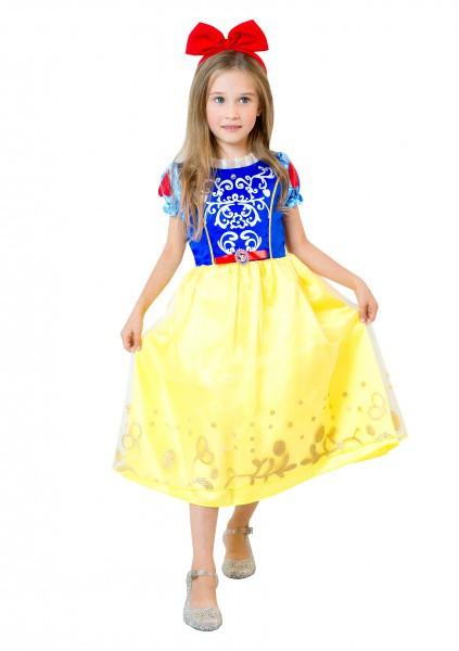 Карнавальное платье детское  Белоснежка для девочек
