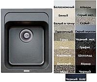 Мойка кухонная гранитная Platinum KORRADO 4050 матовая (19 различных вариантов цвета)