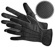 """Рукавички чорні для офіціантів, розмір """"L"""" Польща на чоловічу руку"""