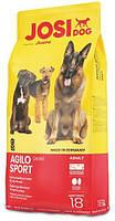 Высокопереваримый корм для спортивных собак Josera JosiDog Agilo Sport (Йозера ЙозиДог Аджило Спорт) 18кг