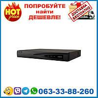 DS-7604NI-K1/4P(B) 4-х канальный сетевой видеорегистратор Hikvision