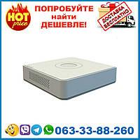 DS-7104NI-Q1/4P 4-канальный NVR с PoE коммутатором на 4 порта