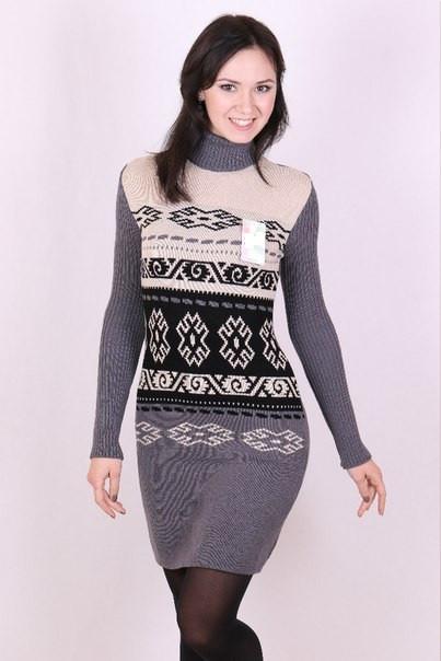 Женское платье вязка - Настя