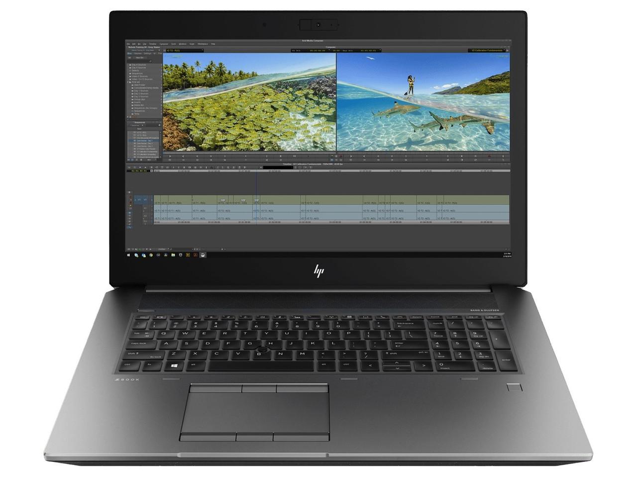 "Ноутбук HP ZBook 17 G6 (6CK22AV_V21); 17.3"" UHD (3840x2160) IPS LED матовый / Intel Core i7-9750H (2.6 - 4.5 ГГц) / RAM 32 ГБ / HDD 2 ТБ + SSD 1 ТБ /"