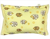 Детская подушка с наполнителем из овечьей шерсти Руно