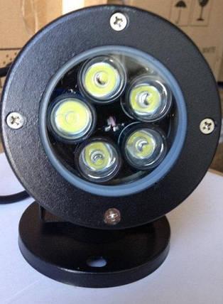 Садовый тротуарный светильник LM979 5W 6500К IP65 Код.59775, фото 2