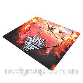 Килимок 290 * 250 тканинної World of Warplanes, товщина 3 мм, колір Mix, Пакет