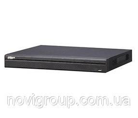 8-канальний відеореєстратор в металевому корпусі з підтримкою 2х HDD DH-NVR4208-4KS2