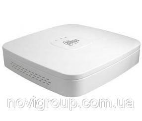 16-канальний відеореєстратор в пластиковому корпусі DH-NVR4116-8P-4KS2
