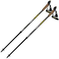 Палки для скандинавской ходьбы Vipole Vario Novice Grey S2033, фото 1