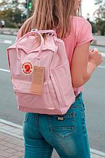 Городской Рюкзак Fjallraven Kanken Classic 16 л Розовый Персик, фото 3