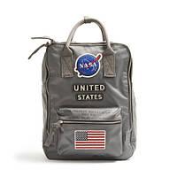 Городской Рюкзак NASA Red Canoe НАСА 20 л Gray Серый