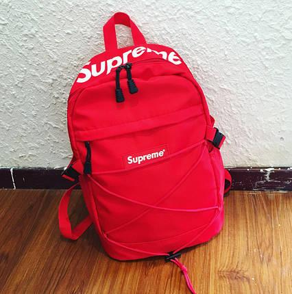 Рюкзак міський Supreme Madrid Водонепроникний 25 л Червоний, фото 2