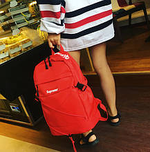 Рюкзак міський Supreme Madrid Водонепроникний 25 л Червоний, фото 3
